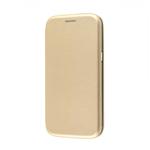 Чехол-книжка FaisON для SAMSUNG Galaxy M11, PREMIUM, CA-17, экокожа, на магните, цвет: золотой