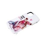 Чехол для Iphone 11 эффект битого стекла, цветной принт, блесящий борт, super mom