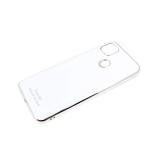 Силиконовый чехол Samsung Galaxy A71 Free Air, best of the best, блестящий борт, белый