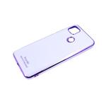 Силиконовый чехол Samsung Galaxy A71 Free Air, best of the best, блестящий борт, сиреневый