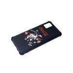 Чехол для Xiaomi Redmi 9a матовая, антишок углы, космонавт