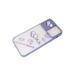 Задняя крышка Xiaomi Redmi 9c матово-прозрачная, свап-камера, KAWS, серо-голубой