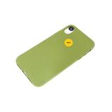 Силиконовый чехол Huawei Y6 2019 Матовый с бархатом внутри, окантовка камеры, с лого, зеленый