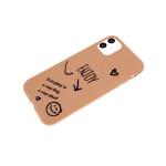 Силиконовый чехол, матовый с рисунком для Samsung Galaxy M11 / A11