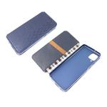 Чехол-книга Xiaomi Redmi 9c Новый дизайн, с силиконовым основанием, синяя