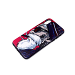 Задняя крышка Xiaomi Redmi 9a пластиковая, черный борт, красочный принт, мужчина