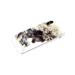 Чехол для Samsung Galaxy A32 4G прозрачный борт, серия с картинками, Хабиб