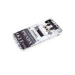 Чехол для Iphone 7/8 прозрачный борт, серия с картинками, стопка книг