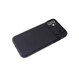 Силиконовый чехол Xiaomi Redmi 9c со свап-камерой, плотный, черный