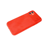 Силиконовый чехол Xiaomi Redmi 9c со свап-камерой, плотный, красный