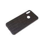 Силиконовый чехол Samsung Galaxy S20 FE текстильное плетение, черный борт, черный