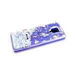 Чехол для Huawei Honor 9a утолщенный, рисунок поверх жидких блесток, много панд