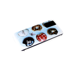 Чехол для Samsung Galaxy A52 яркий рисунок, пончики