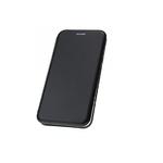 Чехол-книга Fashion Case Xiaomi Redmi 9T с силиконовым основанием и магнитом, черный