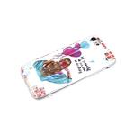 Силиконовый чехол Huawei Honor 9X Lite кошачий глаз, красочный рисунок, девушка с шариками