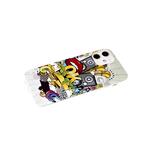 Чехол для Samsung Galaxy A32 4G красочный винил, прозрачный борт, OK