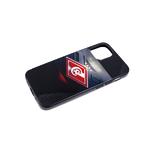 Чехол для Huawei Honor 9a пластиковая, черный борт, футбольный клуб, Спартак