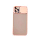Силиконовый чехол REALM со слайд-камерой, в упаковке для Samsung A02S (2020) розовый