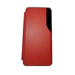 Чехол-книга Huawei Honor 10x Lite с боковым экраном, с силиконовым основанием, красный