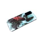 Силиконовый чехол Huawei Honor 9X красочный винил, силиконовый борт, человек в цветном дыму