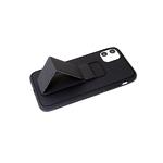 Чехол для Iphone 7 матовая, с подставкой, черная