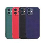 Силиконовый чехол Xiaomi Redmi Note 10 матовый софт тач, защита камеры, мелкие ромбы, синий