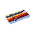 Чехол для Samsung Galaxy A02 2021 прозрачный, серия с картинками, разноцветнаяя машина