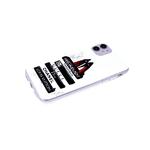 Чехол для Samsung Galaxy A12 прозрачный, серия с картинками, туфли с красной подошвой