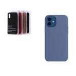 Силиконовый чехол Xiaomi Mi 11 Lite Silicon cover stilky and soft-touch, без логотипа, темно-синий