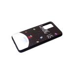 Чехол для Samsung Galaxy A32  силиконовый борт, AMONG US, черная