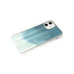 Чехол для Samsung Galaxy A12 силиконовый борт, кошачий глаз CLASSIC CASE, изумрудная