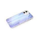 Чехол для Samsung Galaxy A02s силиконовый борт, кошачий глаз CLASSIC CASE, синяя
