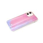 Чехол для Xiaomi Redmi Note 9 Pro силиконовый борт, кошачий глаз CLASSIC CASE, ярко-розовая