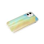 Чехол для Samsung Galaxy A12 силиконовый борт, кошачий глаз CLASSIC CASE, желтая