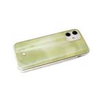 Чехол для Samsung Galaxy A02 2021 силиконовый борт, кошачий глаз CLASSIC CASE, желто-зеленая