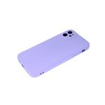 Силиконовый чехол Samsung Galaxy A51 матовый софт тач, с защ.камеры, бархат, без лого, сиреневый