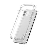 Силиконовый чехол Samsung Galaxy S20 FE Clear case 1.5мм, защита камеры, в тех.паке, прозрачный