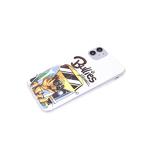 Чехол для Realme C20 красочный винил, прозрачно-силиконовый борт, Bullies