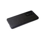 Силиконовый чехол Xiaomi Redmi Note 10 4G однотонный, мат. борт, поверхность под кожу, черный