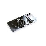 Чехол для Xiaomi Redmi 9c прозрачный борт, глянцевый, яркий рисунок, черное авто