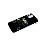 Чехол для Xiaomi Redmi Note 10 Pro прозрачный борт, глянцевый, яркий рисунок, медведь