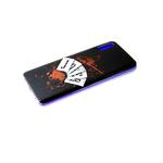 Чехол для Xiaomi Redmi Note 10 прозрачный борт, яркий рисунок, карты JOKER