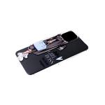 Силиконовый чехол Samsung Galaxy A10 прозрачный с ярким рисунком, Girl Boss
