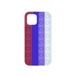 Силиконовый чехол Iphone XR 6.1 разноцветный, POP IT