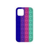 Силиконовый чехол Iphone 11 разноцветный, POP IT