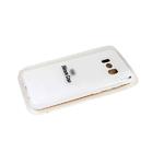Силиконовый чехол Realme C20 Silicone case, с защитой камеры, бархат внутри, без лого, белый