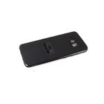 Силиконовый чехол Realme C20 Silicone case, с защитой камеры, бархат внутри, без лого, черный