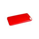 Силиконовый чехол Realme C3 силикон кавер в блистере, бархат, с защитой камеры, красный (11)
