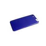 Силиконовый чехол Realme C3 силикон кавер в блистере, бархат, с защитой камеры, тёмно-синий