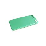 Силиконовый чехол Realme C3 силикон кавер в блистере, бархат, с защитой камеры, зеленый (6)